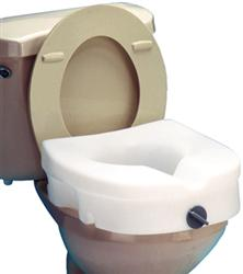 Raised Toilet Seat, Locking, Retail