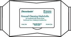 DermAssist Wet Wipes, Softpack, 12bgs/50ea
