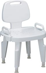Shower Seat with Arms, Brown Box