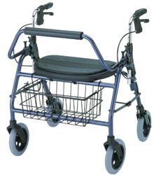 Mighty Mack Rollator, Blue