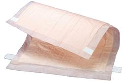 Tranquility Peach Sheet Underpad, 21 x 36, 8bgs/12, 96/cs