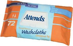 Attends Washcloths, 8.5x11 12packs/72ea
